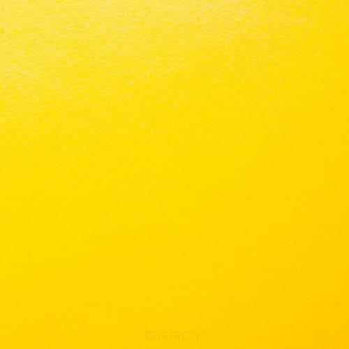 Купить Имидж Мастер, Шкаф для парикмахерской №2 двойной со стеклом (25 цветов) Желтый