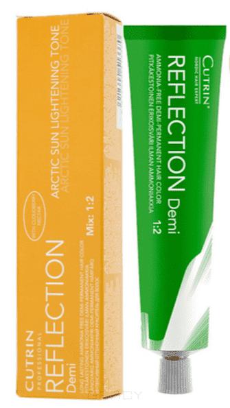 Cutrin, Безаммиачный краситель Reflection Demi Artic Sun, 60 мл (5 оттенков), 60 мл, AS 0.0 натуральный блондинColor - краски и оксиды<br><br>