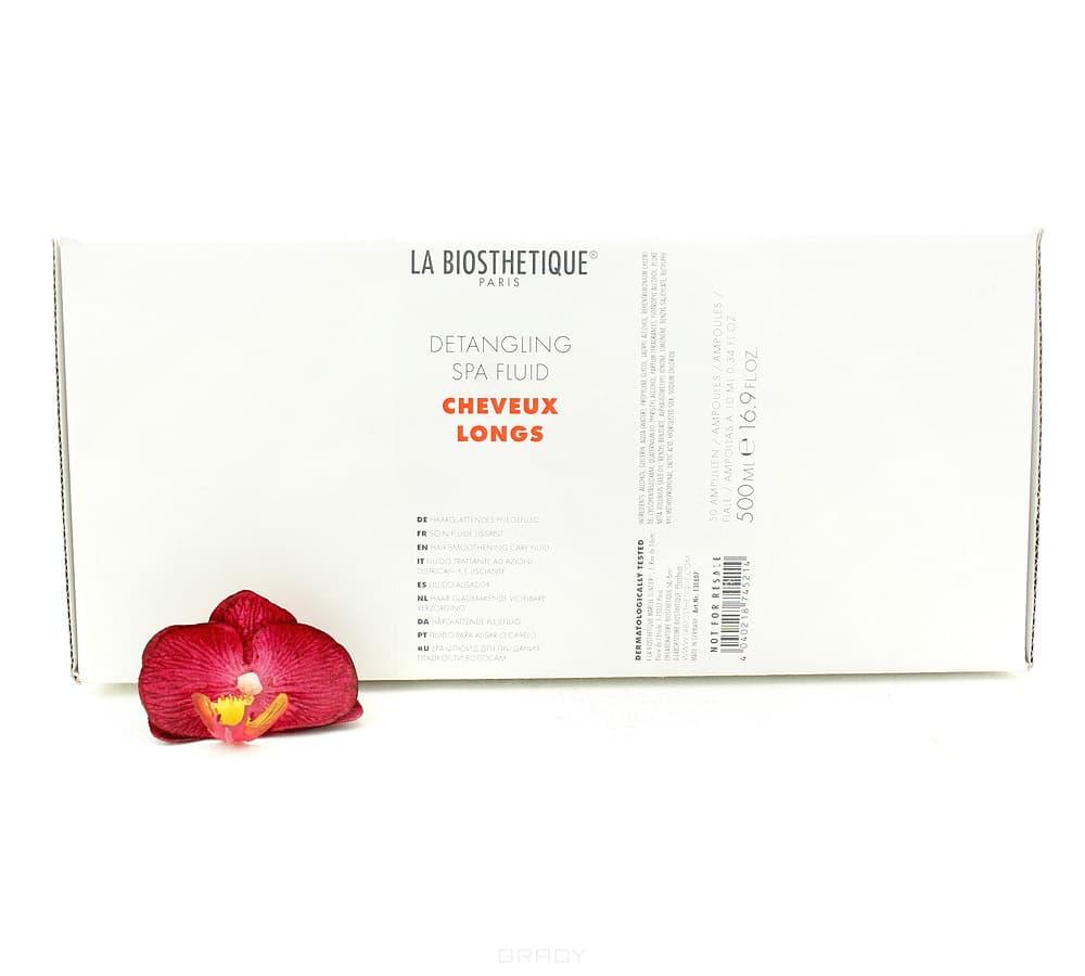 La Biosthetique, SPA-флюид для придания гладкости волосам (в ампулах) Detangling Spa Fluid la biosthetique spa спрей для придания гладкости волосам detangling spa spray 200 мл