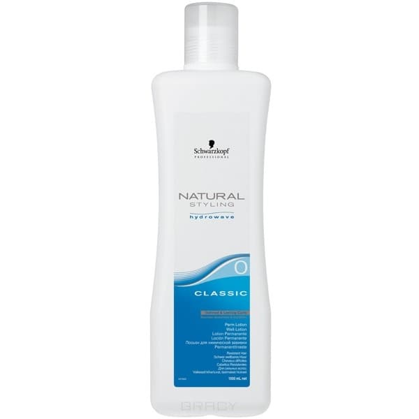 Schwarzkopf Professional, Н.С Лосьон Классик 0 для химической завивки сильных волос, 1000 млХимическая завивка и выпрямление<br><br>