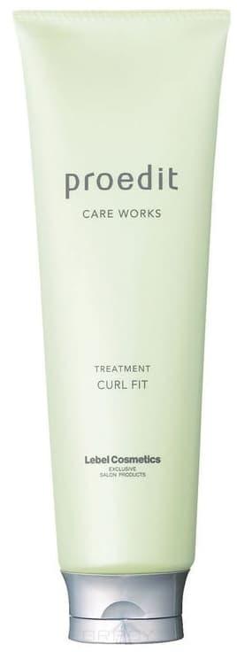 Lebel, Маска для волос Proedit Hair Treatment Curl Fit, 600 млProedit Care Works - восстановление поврежденных волос<br><br>
