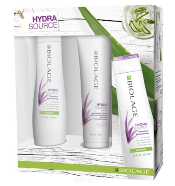 Купить Matrix, Весенний набор для увлаженения волос 2020 шампунь + кондиционер Biolage Hydrasource, 250/200 мл
