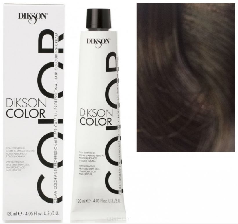 Купить Dikson, Краска для волос Color Extra Premium, 120 мл (44 тона) 5САС горький шоколад
