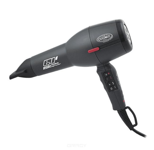 Фен профессиональный EVAX1 H 1900, черный coif in фен cl4 h 2050w черный