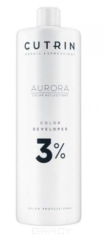 Купить Cutrin, Окислитель для краски Aurora Color Developer (SCC-Reflection) (1, 5, 3, 4, 6, 9, 12%) Окислитель Aurora Color Developer 3%