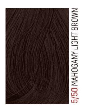 Lakme, Перманентная крем-краска для волос без аммиака Chroma, 60 мл (32 тона) 5/50 Светлый шатен махагоновый ollin color перманентная крем краска для волос 5 4 светлый шатен медный 60 мл