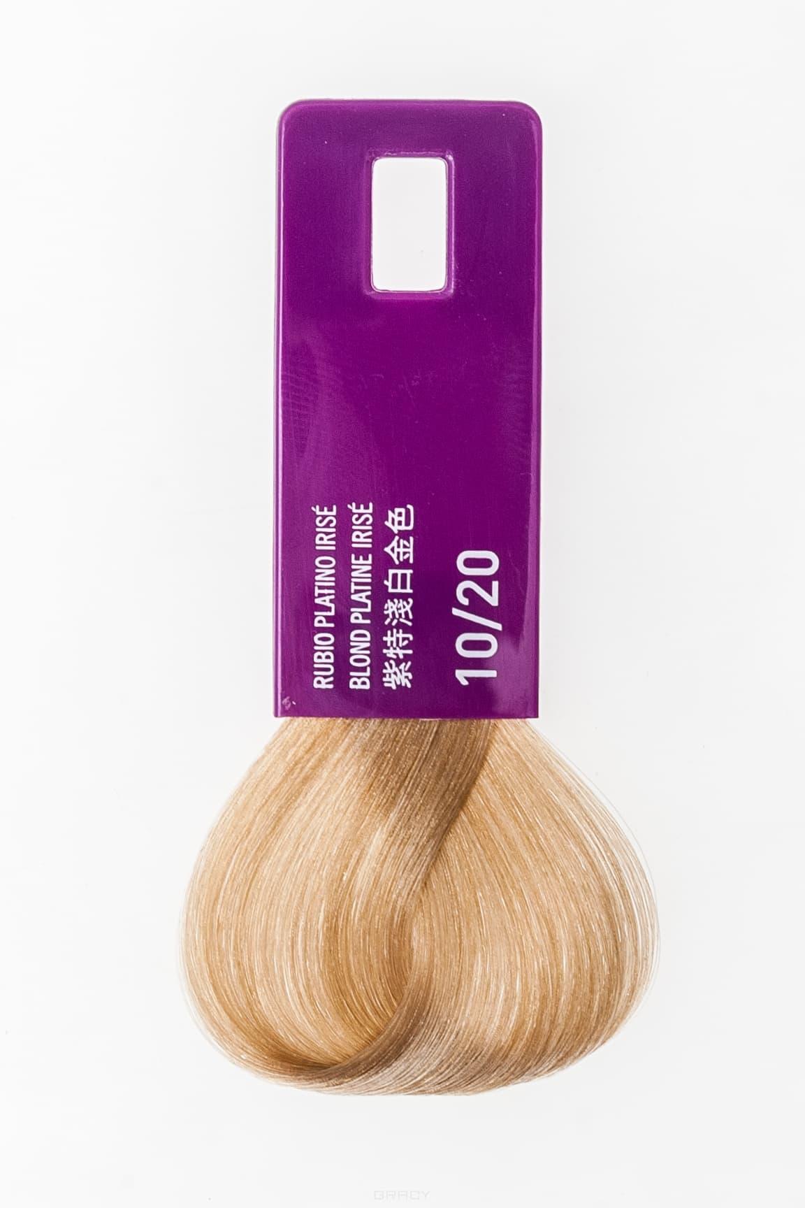 Купить Lakme, Крем-краска для волос тонирующая Gloss, 60 мл (54 оттенка) 10/20 очень светлый блондин филетовый
