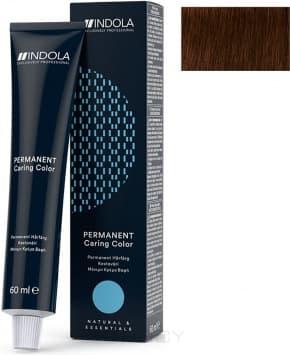 Купить Indola, Индола краска для волос профессиональная Profession, 60 мл (палитра 141 цвет) 5.35 светлый коричневый золотистый махагон