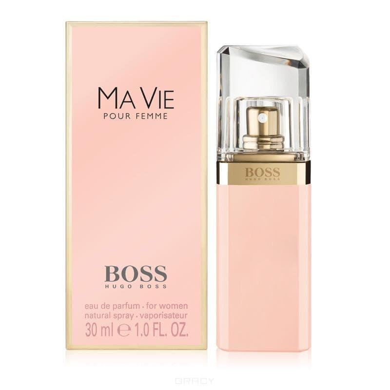 Boss Ma Vie w EDPЛетом 2014Hugo BossзапускаетBoss Ma Vie Pour Femme, новый аромат для женщин, принадлежащий к той же коллекции, что и издания Boss Nuit 2012 года, Boss Jour 2013 года и Boss Nuit Intense 2014 года. Флакон нового издания сохраняет форму его предшественников по коллекции, но окрашен в нежно-розовый цвет. Аромат описывается такими эпитетами как &amp;amp;quot;женственный&amp;amp;quot;, &amp;amp;quot;сильный&amp;amp;quot; и &amp;amp;quot;независимый&amp;amp;quot;. &amp;amp;quot;HugoBoss Ma Vie Pour Femmeбыл вдохновлен независимой женщиной, которая делает паузу, чтобы просто насладиться простыми моментами жизни; пройтись до дома пешком, ощутить солнце на своей коже, прикоснуться к цветку. Именно в такие моменты, которыми она по-настоящему дорожит, женщинаBoss Ma Vie Pour Femmeособенно пленительна, светится женственностью и уверенностью.&amp;amp;quot;&#13;<br> &#13;<br>Композиция новинки описывается как свежая, доставляющая удовольствие и уникальная. Она состоит из трех частей - &amp;amp;quot;современность&amp;amp;quot;, &amp;amp;quot;женственность&amp;amp;quot; и &amp;amp;quot;уверенность&amp;amp;quot;. За &amp;amp;q...<br>