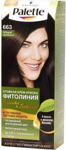 Schwarzkopf Professional, Краска для волос Palette Фитолиния без аммиака (25 оттенков), 50 мл 663 Пряный эспрессоОкрашивание<br><br>