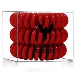 HH Simonsen, Резинка для волос Hair Bobbles темно-красная, 3 штЗажимы, шпильки, резинки<br><br>