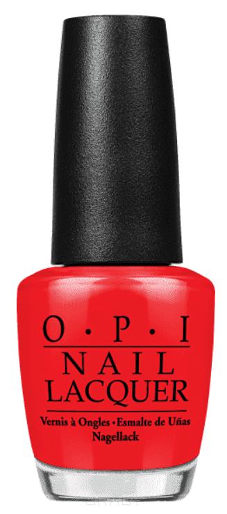 OPI, Лак для ногтей Classic, 15 мл (106 цветов) Big Apple Red opi лак для ногтей classic nla70 red hot rio 15 мл