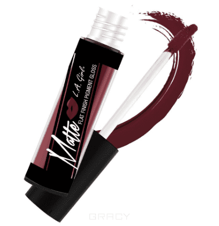 цена L.A. Girl, Матовый пигмент для губ Matte Pigment Gloss, 5 гр (15 оттенков) Backstage