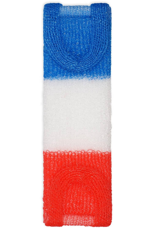 Купить Vival, Мочалка для тела П118 длинная трехцветная