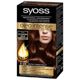 Syoss, Краска для волос Oleo Intense, 115 мл (26 оттенков) 5-28 Горячий ШоколадОкрашивание<br><br>