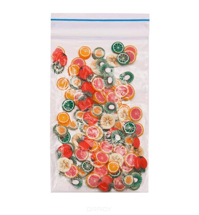 Planet Nails, Фимо декор в нарезке (пакет) 2 вида, 1 пакет, ЦветыДизайн дл ногтей<br><br>