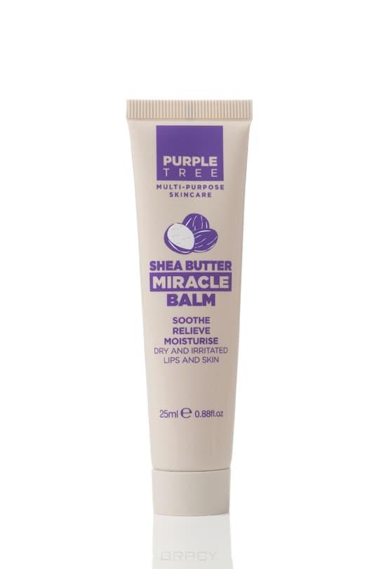 Purple Tree, Бальзам для губ Масло Ши Miracle Balm Shea Butter, 25 млДля губ<br><br>