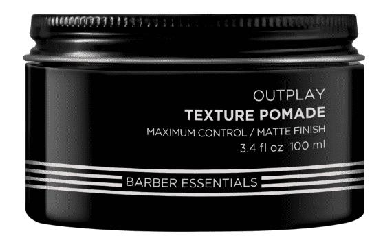 Фото - Redken, Мужская помада для укладки волос Текстурирующая Brews Outplay Texture Pomade, 100 мл redken крем паста текстурирующая mess around 10 50 мл