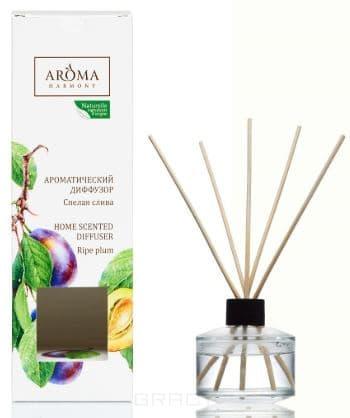 Aroma Harmony, Диффузор Ароматический Спелая слива, 50 мл диффузор с палочками via brera velvet