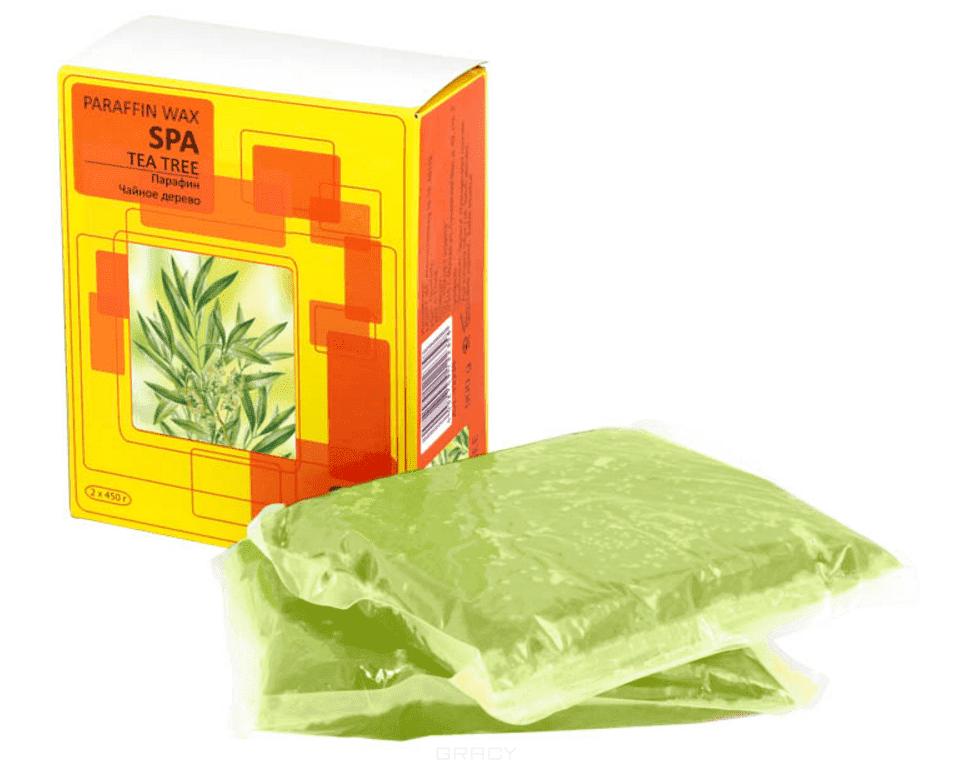 Парафин чайное дерево 900гр (2шт по 450гр в упаковке) Планет Нейлс холодный парафин тонизирующий чайное дерево tea tree cold paraffin 450 мл