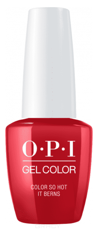OPI, Гель-лак GelColor, 15 мл (95 цветов) Color So Hot It Berns opi гель лак gelcolor 15 мл 95 цветов do you have this color in stock holm