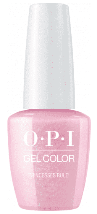 OPI, Гель-лак GelColor, 15 мл (95 цветов) Princesses Rule! beautix гель лак 311 15 мл