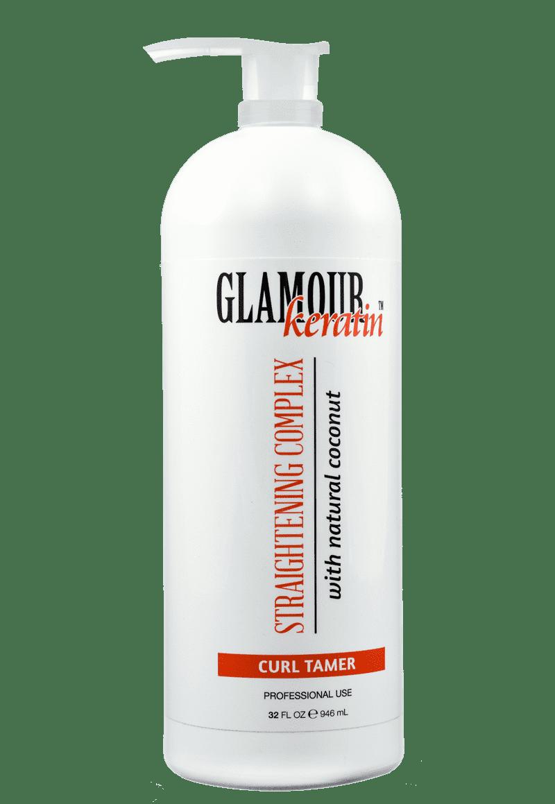 Купить Glamour Keratin, Кератин, состав для кератинового выпрямления с натуральным кокосом (без пигмента), 250 мл