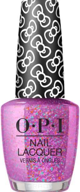 OPI, Лак для ногтей Nail Lacquer, 15 мл (287 цветов) Let's Celebrate / HELLO KITTY 2019 opi лак для ногтей nail lacquer 15 мл 275 цветов a kiss on the chìc hello kitty 2019