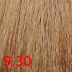 Купить Kaaral, Крем-краска для волос Baco Permament Haircolor, 100 мл (106 оттенков) 9.30 очень светлый золотистый блондин