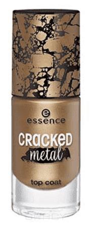 Купить Essence, Верхнее покрытие растрескивающееся золото Cracked Metal Top Coat, 8 мл
