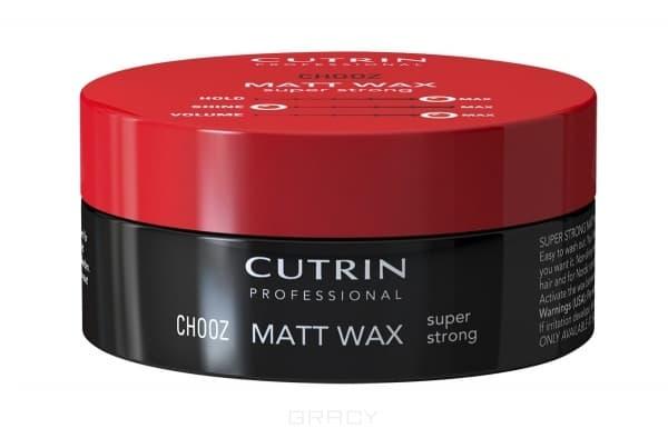 Cutrin, Матовый воск экстра-сильной фиксации Matt Wax Super Strong, 100 млУкладка<br><br>