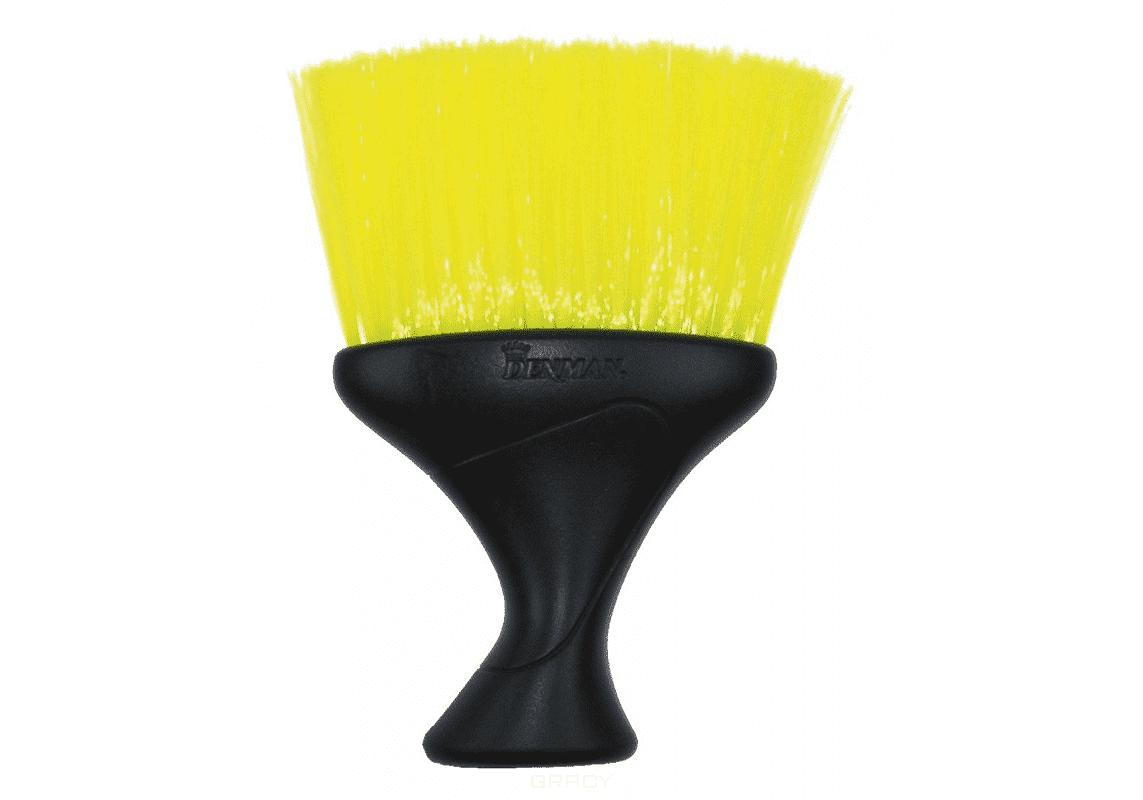Denman, Щетка-сметка D78, желтая, 1 шт eurostil щетка сметка с тальком 2 цвета 1 шт черный 01463 50