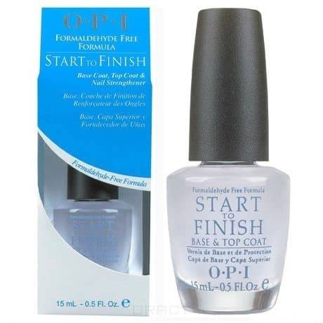 Покрытие универсальное 3 в 1 Start to finish Multi-Purpose Nail Treatment, 15 мл irl520a to 220