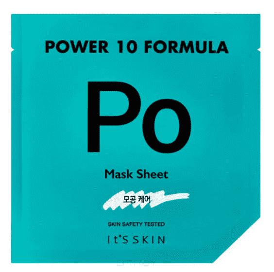 Купить It's Skin, Power 10 Formula Mask Sheet PO Тканевая маска сужающая поры, 25 мл