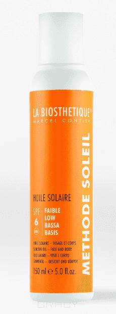 цена на La Biosthetique, Водостойкое солнцезащитное масло с SPF 6 для базовой защиты Methode Soleil Huile Solaire SPF 6, 200 мл