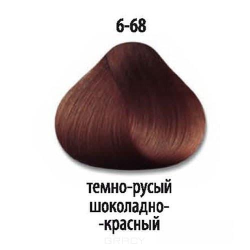 все цены на Constant Delight, Краска для волос Констант Делайт Trionfo, 60 мл (74 оттенка) 6-68 Темный русый шоколадный красный онлайн