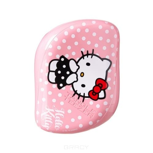 Tangle Teezer, Расческа для волос Compact Styler Hello Kitty Pink