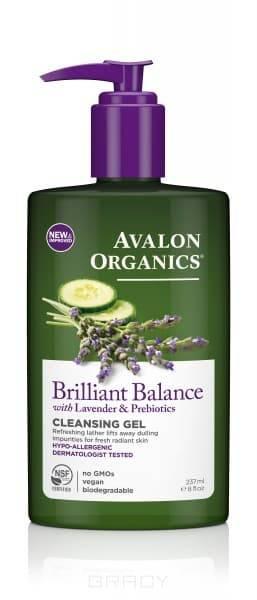 Avalon Organics, Гель для демакияжа Facial Cleansing Gel, 198 млСнятие макияжа<br><br>