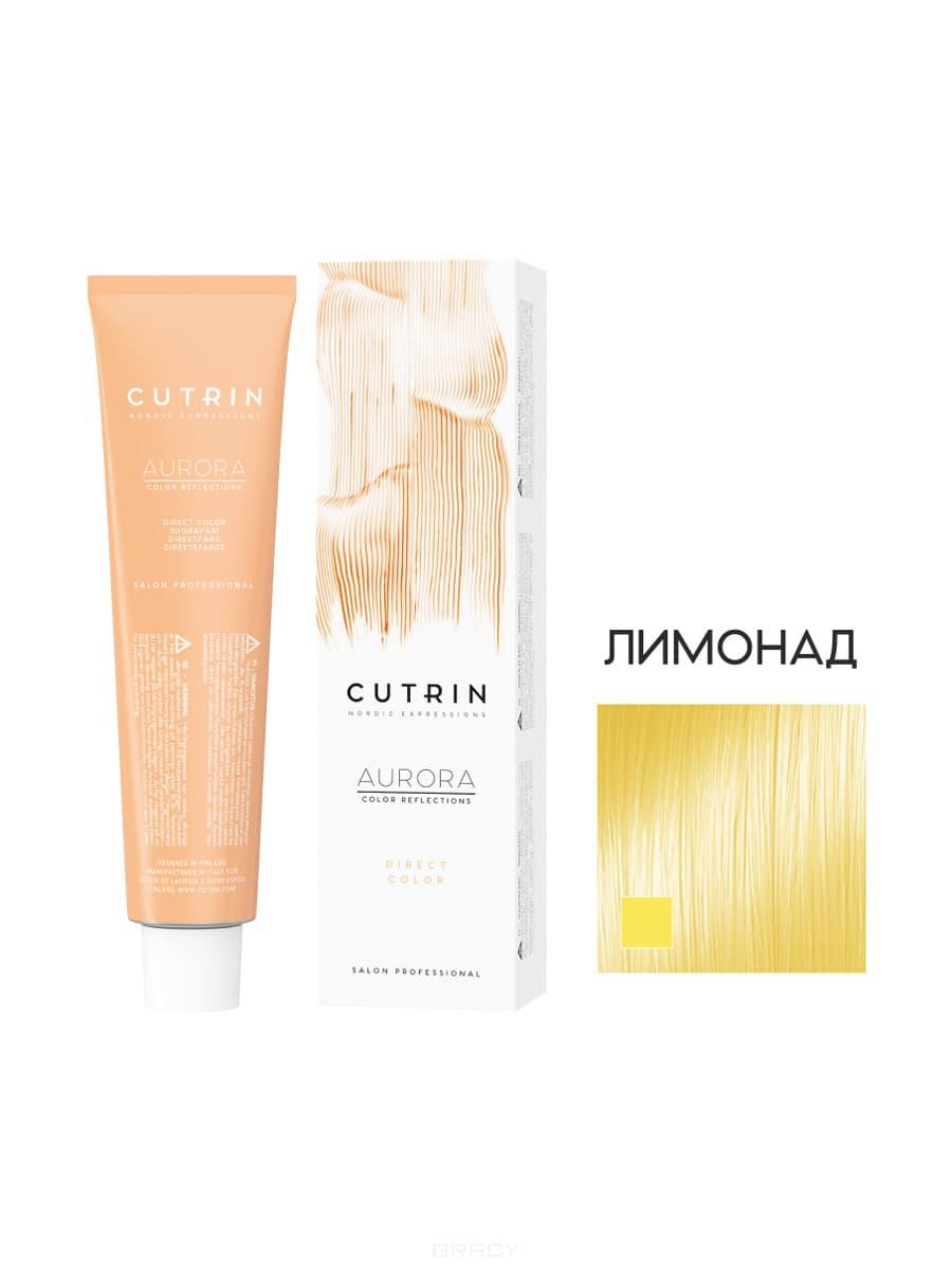 Купить Cutrin, Тонирующий краситель с прямыми пигментами Aurora Direct Color, 100 мл (10 оттенков) Лимонад (пастельно-желтый)