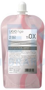 Купить Demi, Состав для фиксации биозавивки, стабилизации и сохранения пигмента UEVO Fige TIOX-2 (активное вещество: перикись водорода), 400 мл