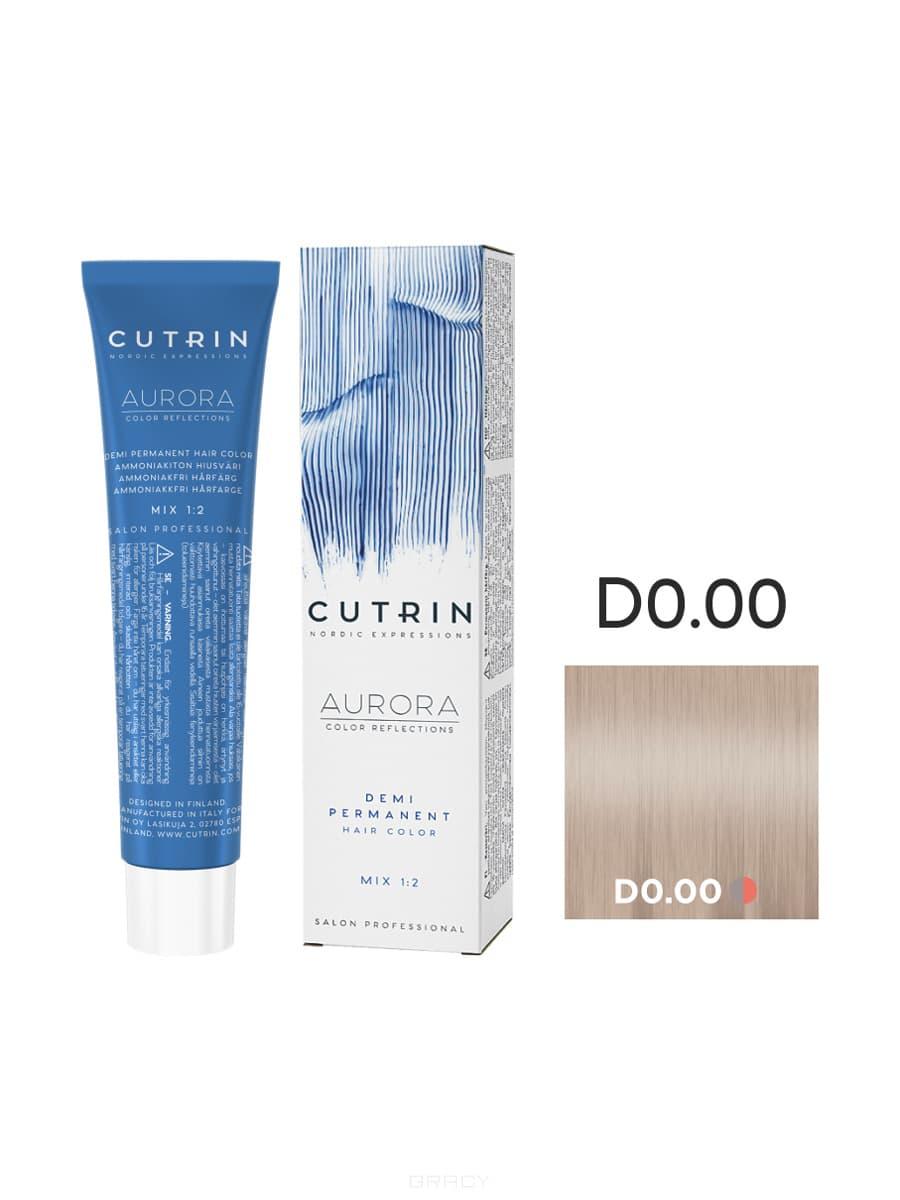 Купить Cutrin, Безаммиачная краска Aurora Demi (Новый дизайн Reflection Demi), 60 мл (55 оттенков) D 0.00 Прозрачный тон