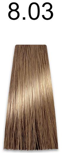 Купить Kaaral, Стойкая безаммиачная крем-краска с гидролизатами шелка Baco Soft Ammonia Free, 60 мл (42 оттенка) 8.03 натуральный светлый золотистый блондин