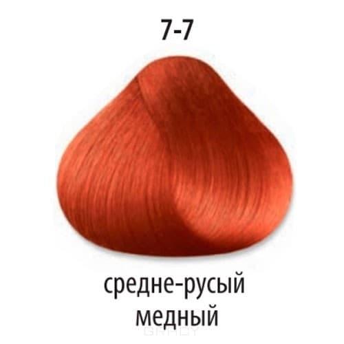 Constant Delight, Краска для волос Констант Делайт Trionfo (палитра 74 цвета), 60 мл 7-7 Средний русый медный constant delight крем краска delight trionfo 7 42 средний русый бежевый пепельный 60 мл