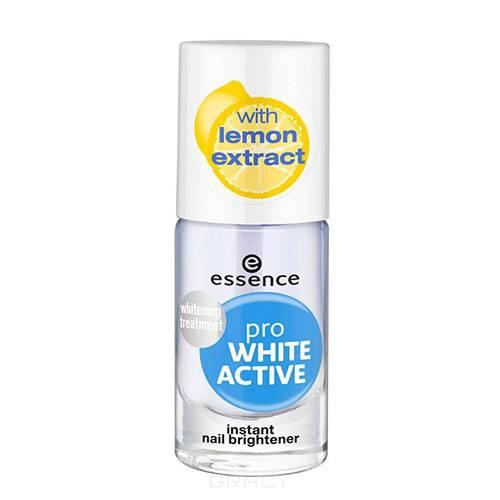 Essence, Отбеливающий лак для ногтей Pro White Active, 8 мл