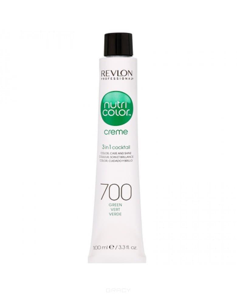Revlon, Крем-краска для волос 3 в 1 Nutri Color Creme, (52 оттенка) 700 Зеленый фото