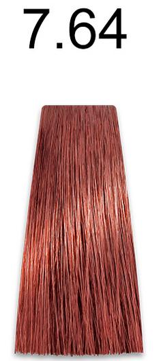 Купить Kaaral, Стойкая безаммиачная крем-краска с гидролизатами шелка Baco Soft Ammonia Free, 60 мл (42 оттенка) 7.64 красный медный блондин