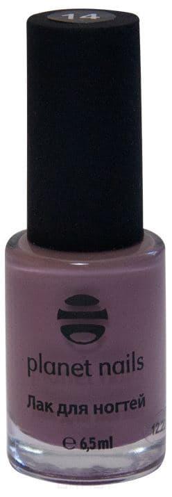 Planet Nails, Лак для Stamping Nail Art, 6,5 мл (12 оттенков) Планет Нейлс Коричневый (14) planet nails лак для stamping nail art 6 5 мл 12 оттенков планет нейлс коричневый 14