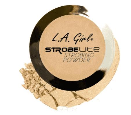 L.A. Girl, Пудра для стробинга компактная Strobe Lite Strobing Powder (10 оттенков) тон 100 ватт