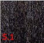 Купить Kaaral, Перманентный краситель для волос Maraes Color Nourishing, 60 мл (58 тонов) 5.1 светло-пепельный каштан