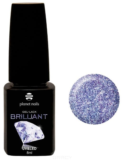 Купить Planet Nails, Гель-лак Brilliant Планет Нейлс, 8 мл (18 оттенков) 713